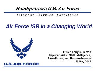Air Force ISR in a Changing World