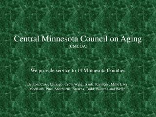 Central Minnesota Council on Aging (CMCOA)