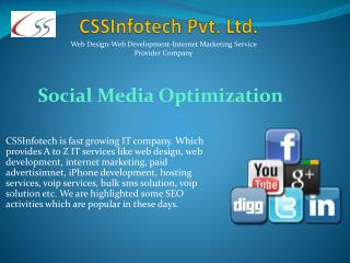 Useful Social Media Optimization-SMO activities