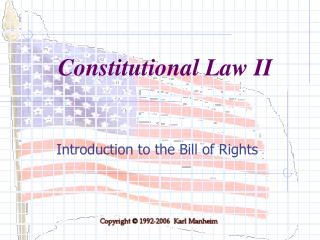 Introduction to the Bill of Rights