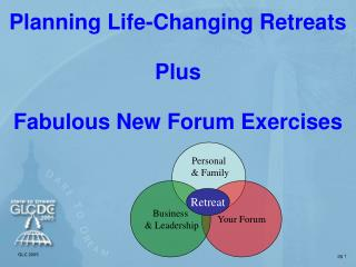 Planning Life-Changing Retreats Plus Fabulous New Forum Exercises