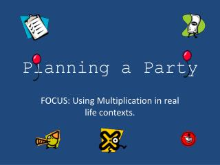 Planning a Party