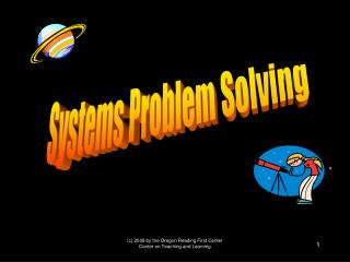 Systems Problem Solving