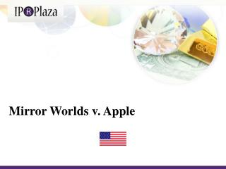 Mirror Worlds v. Apple