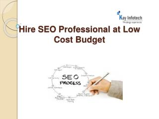 Cheap SEO services India