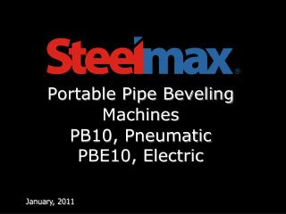 Portable Pipe Beveling Machine s PB10, Pneumatic 	PBE10, Electric