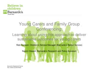 Young Carers and Family Group Conferencing: