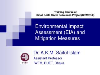 Environmental Impact Assessment (EIA) and Mitigation Measures