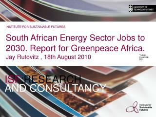 ISF :RESEARCH AND CONSULTANCY