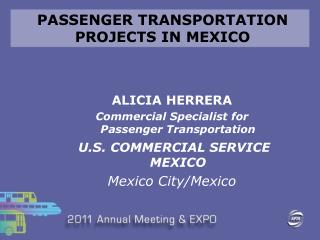 PASSENGER TRANSPORTATION  PROJECTS IN MEXICO