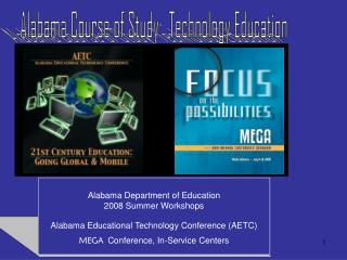 Alabama Course of Study:  Technology Education