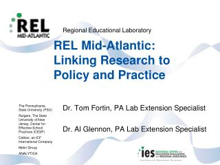 REL Mid-Atlantic: Linking Research to Policy and Practice