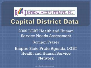 Capital District Data