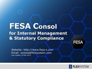 for Internal Management  & Statutory Compliance