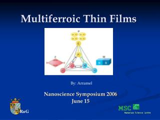 Multiferroic Thin Films