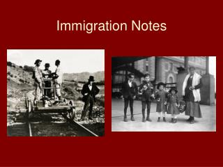 Immigration Notes