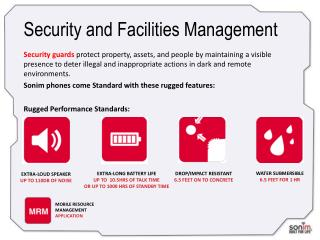 Security and Facilities Management