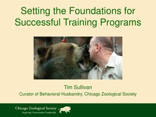 Setting the Foundations for  Successful Training Programs