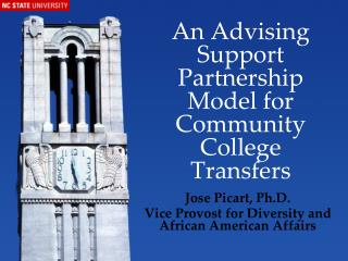 An Advising Support Partnership Model for Community College Transfers