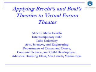 Virtual Forum Theatre -VFT Web-based environment for creating collaborative digital drama.