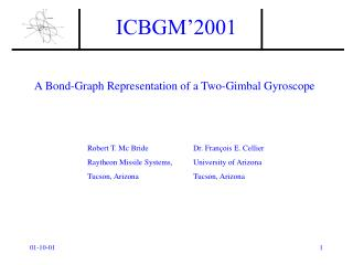 A Bond-Graph Representation of a Two-Gimbal Gyroscope