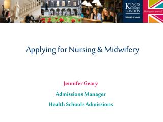 Applying for Nursing & Midwifery