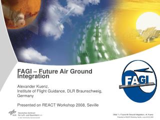 Future Air Ground Integration - FAGI