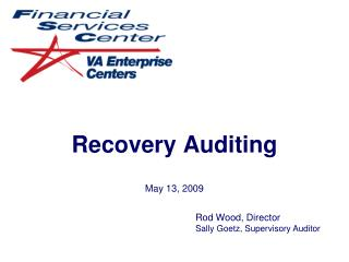 Recovery Auditing