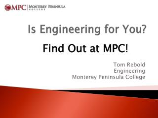 Is Engineering for You?