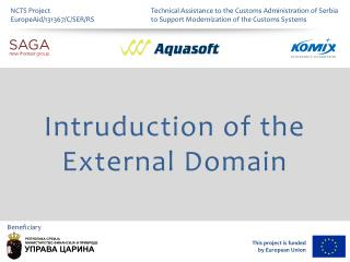 Intruduction of the  External Domain