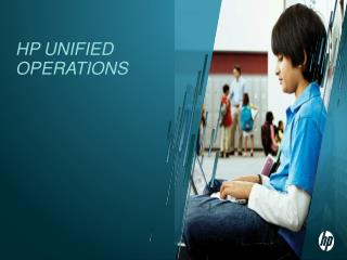 HP Unified Operations