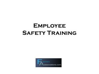 Employee  Safety Training