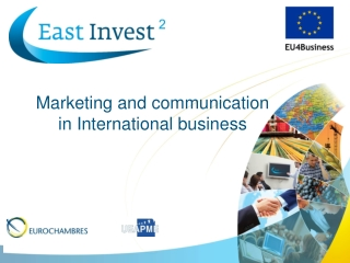 Marketing and communication in International business