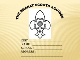 THE BHARAT SCOUTS &GUIDES