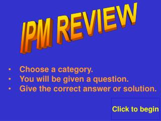 IPM REVIEW