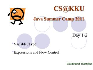 CS@KKU Java Summer Camp 2011