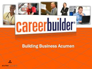 Building Business Acumen