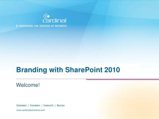 Branding with SharePoint 2010