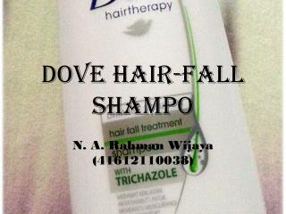 DOVE HAIR-FALL SHAMPO