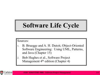Software Life Cycle