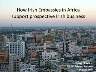 How Irish Embassies in Africa support prospective Irish business