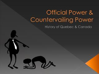 Official Power & Countervailing Power