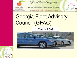 Georgia Fleet Advisory Council (GFAC)