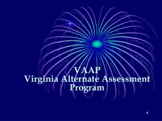 VAAP Virginia Alternate Assessment Program