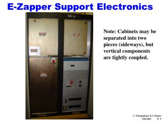 E-Zapper Support Electronics