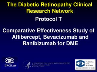 The Diabetic Retinopathy Clinical Research Network