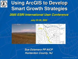 Using ArcGIS to Develop Smart Growth Strategies