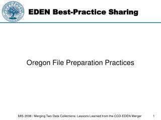 EDEN Best-Practice Sharing