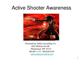 Active Shooter Awareness