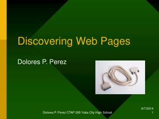 Discovering Web Pages